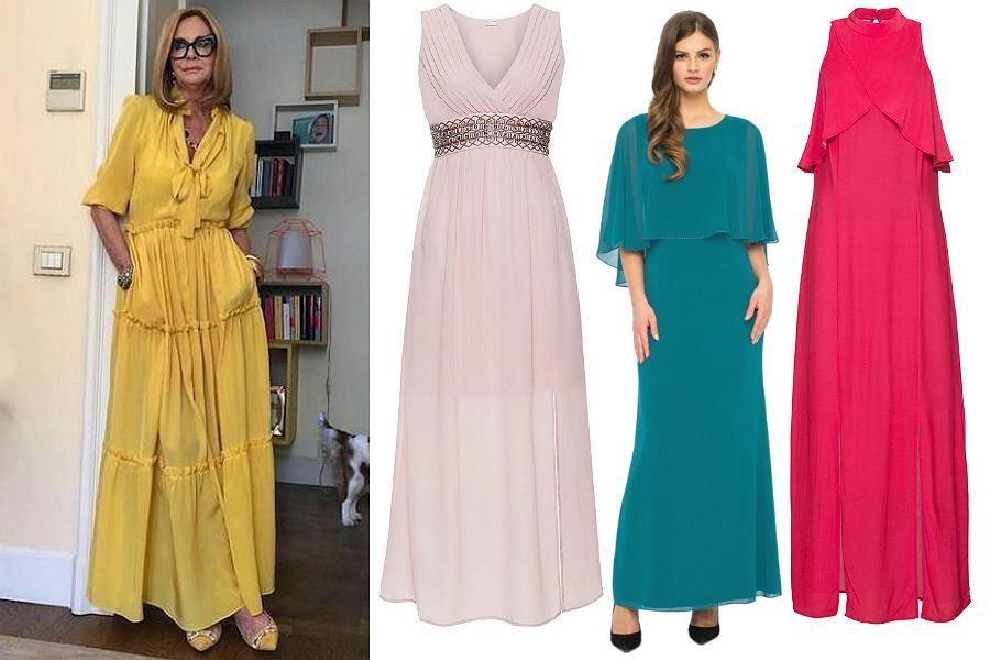 10039f7d5a Sukienki Na Wesele Eleganckie Dla Mamy Długie