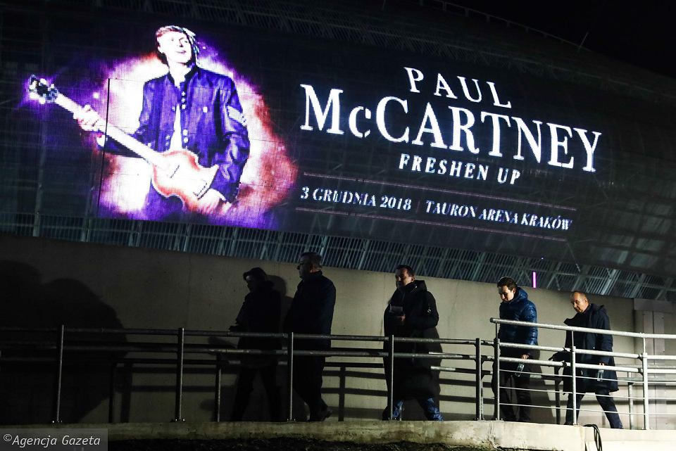 The Beatles Polska: Koncert McCartneya w Krakowie - setlista