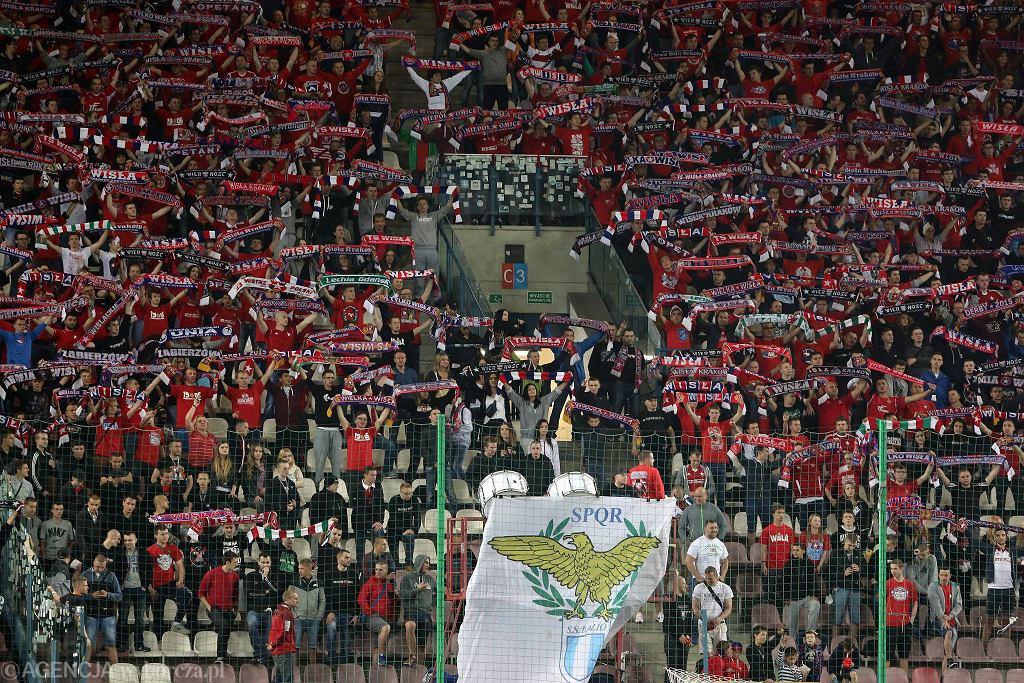 Kibice Wisły, flaga Lazio