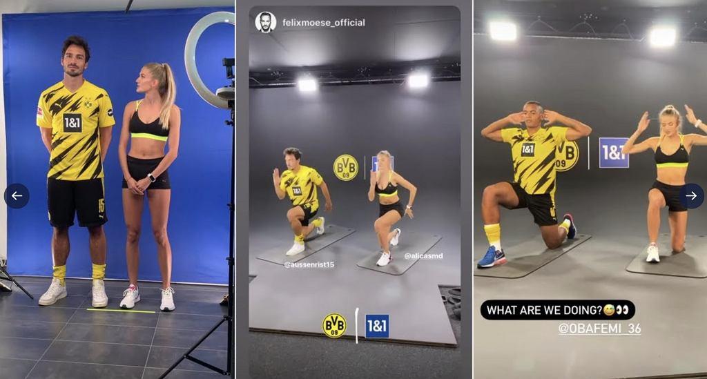 Alica Schmidt trenuje z piłkarzami Borussii Dortmund
