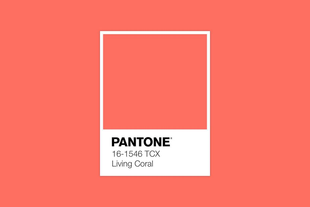 Kolor roku 2019 według Pantone - Living Coral