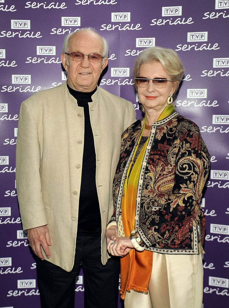 Jadwiga Baranska i Jerzy Antczak