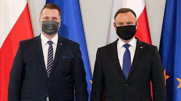 Andrzej Duda i Przemysław Czarnek
