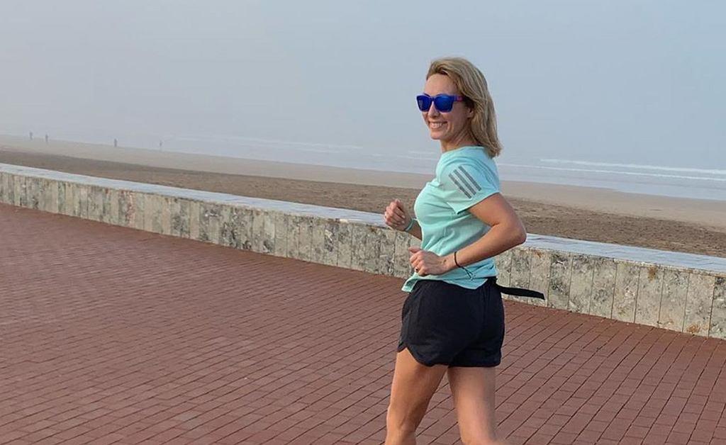 Anna Kalczyńska - jogging