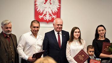 Andrij Sirowackij otrzymał polskie obywatelstwo (fot.Twitter/@LubuskiUW)