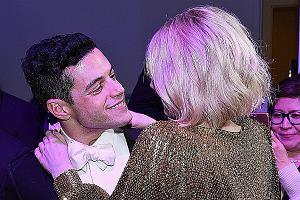 Złote Globy 2019 - Rami Malek i Lucy Boynton