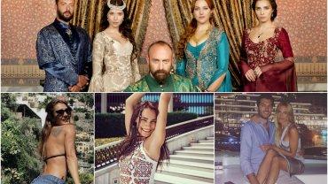 """""""Wspaniałe stulecie"""" to telenowela, którą ostatnio ukochali sobie Polacy. Serial o losach intrygach dworu osmańskiego Sulejmana Wspaniałego zachwyca nie tylko egzotyką, ale i pięknymi aktorkami. Każda z nich ma konto na Instagramie, gdzie możemy zobaczyć je na randce, z rodziną albo w bikini. Czy prywatnie są równie piękne co na ekranie?"""