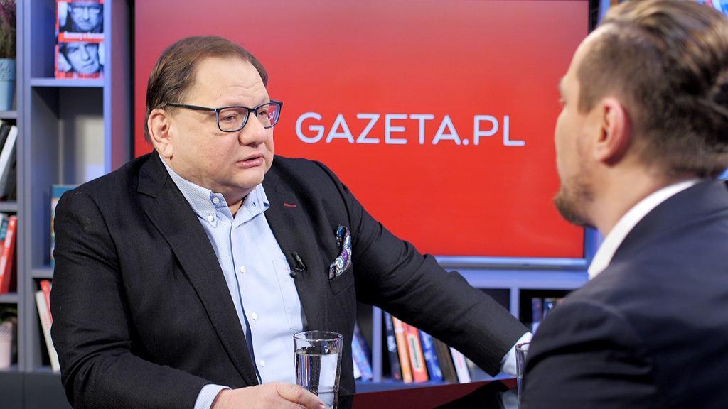 'Ten człowiek chodził po scenie z nożem. To trwało wieczność'. Ryszard Kalisz gościem poranka Gazeta.pl