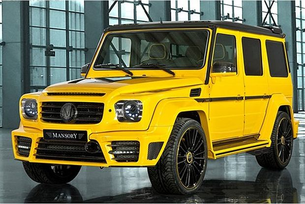 Mercedes G Mansory Tuning