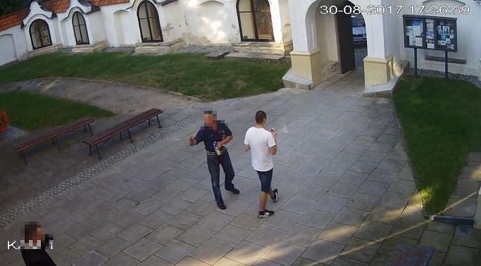 Incydent w kościele w Sandomierzu