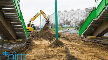 Przebudowa trasy na górnym tarasie Rataj wraz z rondem Żegrze