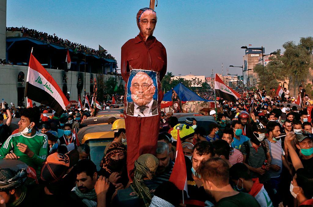 Masowe protesty w Iraku