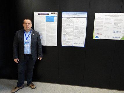 Prof. Maciej Dzikuć podczas ubiegłorocznej międzynarodowej konferencji (International Conference on Smart Power & Internet Energy Systems SPIES) w australijskim Melbourne