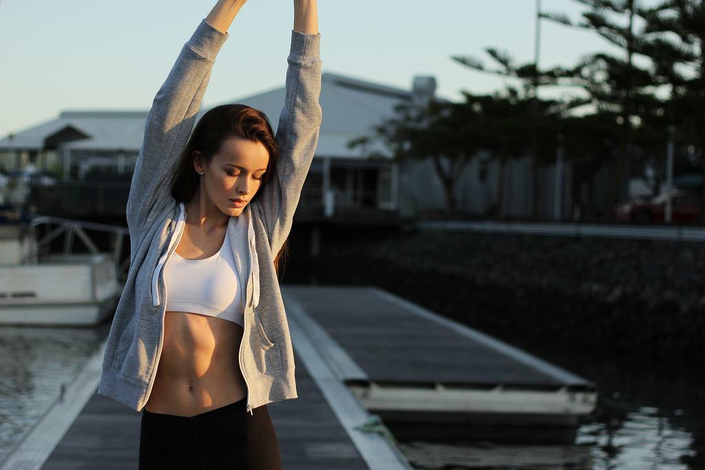 trening na płaski brzuch