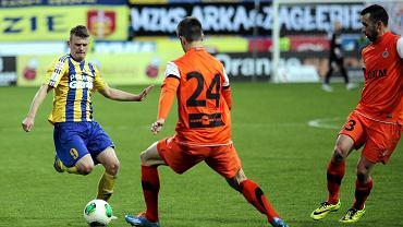 Arka - Zagłębie 0:0 w Pucharze Polski. Tomasz Kowalski