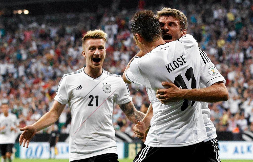 Miroslav Klose, Thomas Mueller i Marco Reus