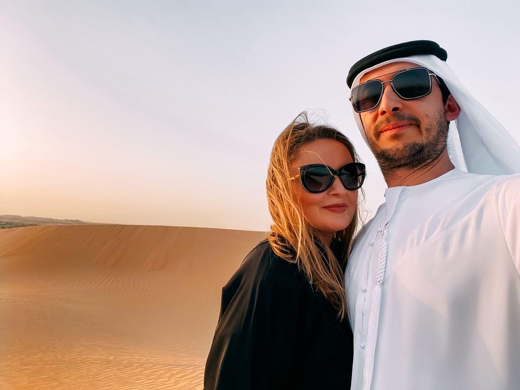 Kinga Rashwan z mężem Maciejem