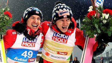 Mistrzostwa świata w Seefeld 2019. Dawid Kubacki i Kamil Stoch