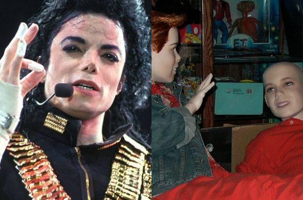 Michael Jackson / zdjęcie z rezydencji Neverland