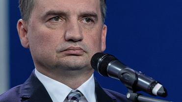 Prezes Solidarnej Polski Zbigniew Ziobro