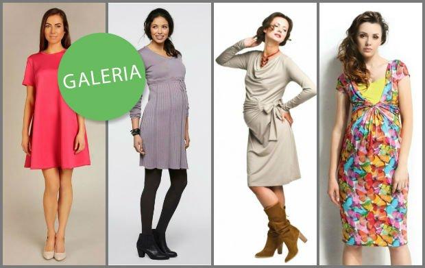 fb05f268f5412b Wizytowe sukienki dla kobiet w ciąży - propozycje na wiosnę i lato