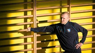 Pierwszy w 2015 r. trening piłkarzy Zawiszy