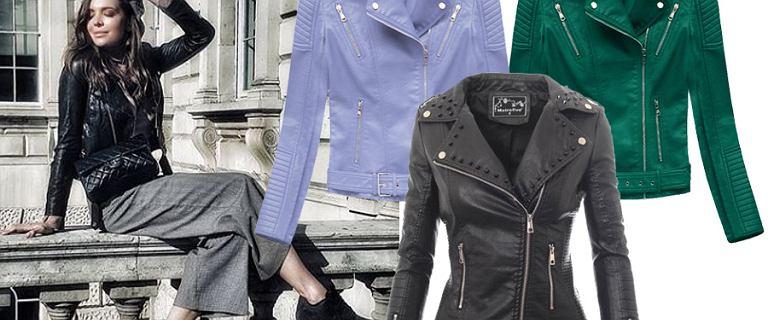 Ramoneska, kurtka idealna na wiosnę. Pasuje do każdego typu sylwetki i niemal każdej stylizacji