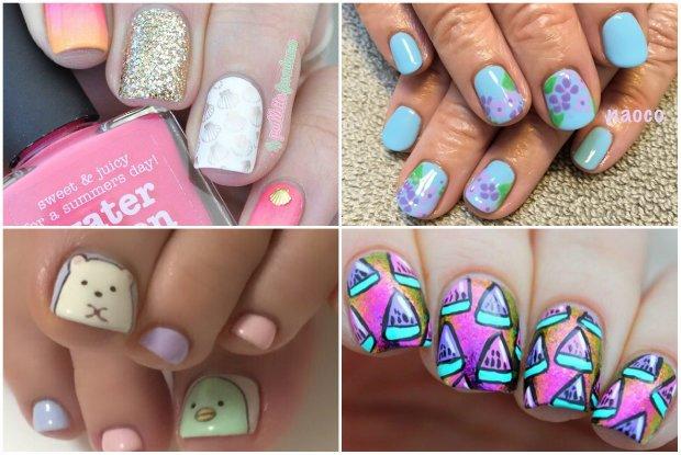 Pomysły na wakacyjny manicure
