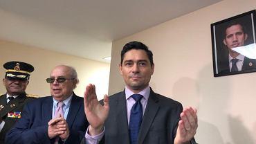 Carlos Vecchio, ambasador Guaido w Stanach Zjednoczonych