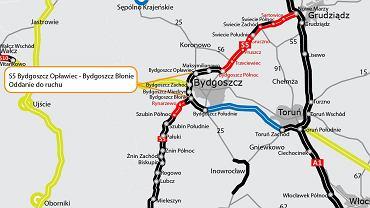 Trasa S5 Bydgoszcz Opławiec - Bydgoszcz Błonie