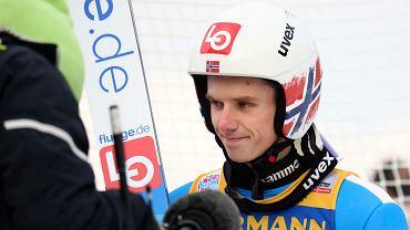 Halvor Egner Granerud podczas Turnieju Czterech Skoczni