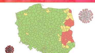 Koronawirus. 24 powiaty spełniają warunki lockdownu. Mimo wzrostu zakażeń resort nie podaje nowych kryteriów
