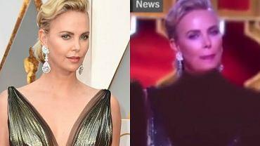 Kreacja Charlize Theron ocenzurowana w irańskiej telewizji