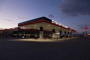 Pierwszy Dyskont Paliwowy w Polsce. 22 stanowiska i 100 miejsc parkingowych