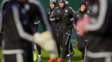 Piłkarze Legii trenowali po meczu z Piastem