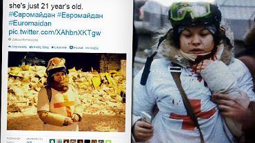 Tragiczna historia sanitariuszki z Majdanu