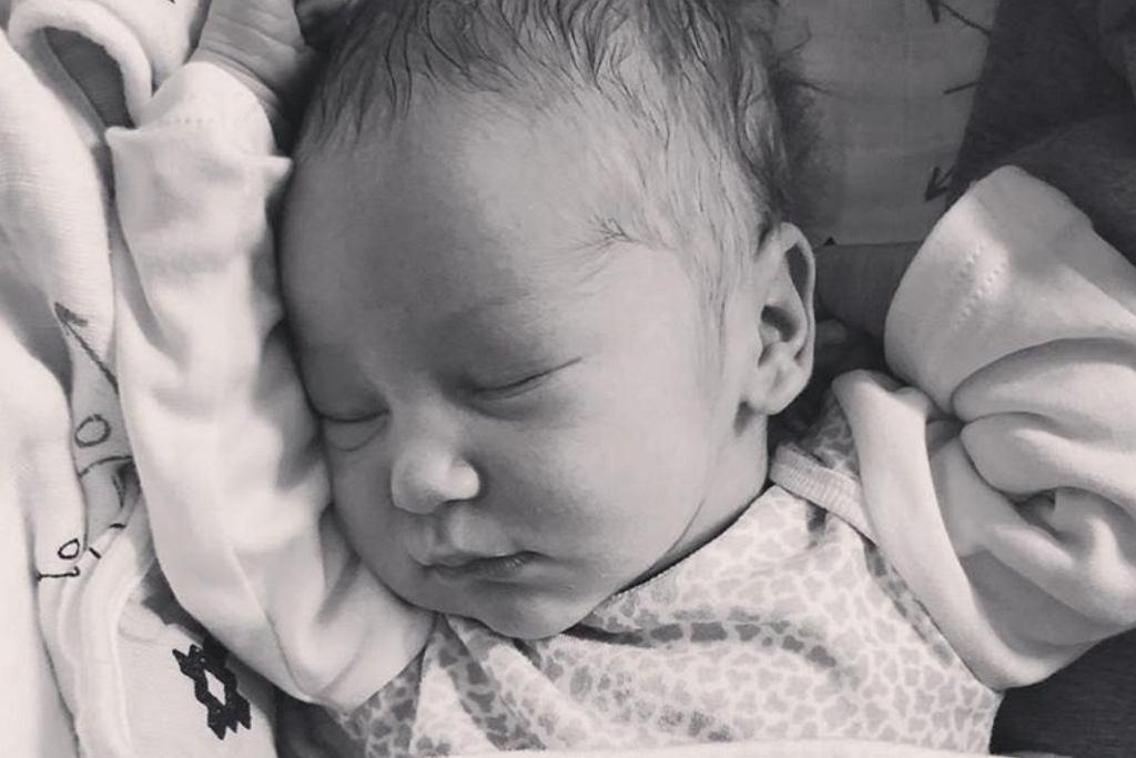 Anna Korcz urodziła syna