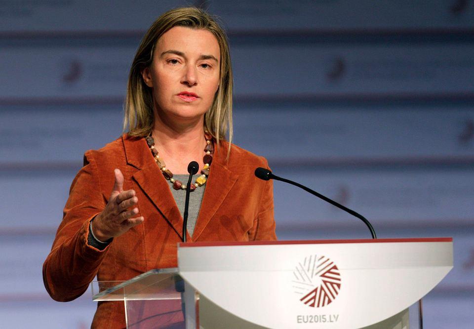 Federica Mogherini, szefowa unijnej dyplomacji