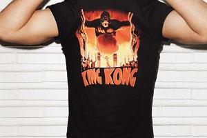 Moda: King Kong na koszulce