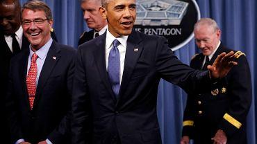 - Fanatyczna ideologia nie zostanie całkowicie pokonana armatami, tylko musi zostać wyparta przez lepszą ideologię - mówił prezydent Obama  w poniedziałek w Pentagonie