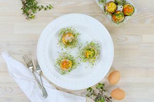 Galaretki w kształcie jajek - pyszne na Wielkanoc