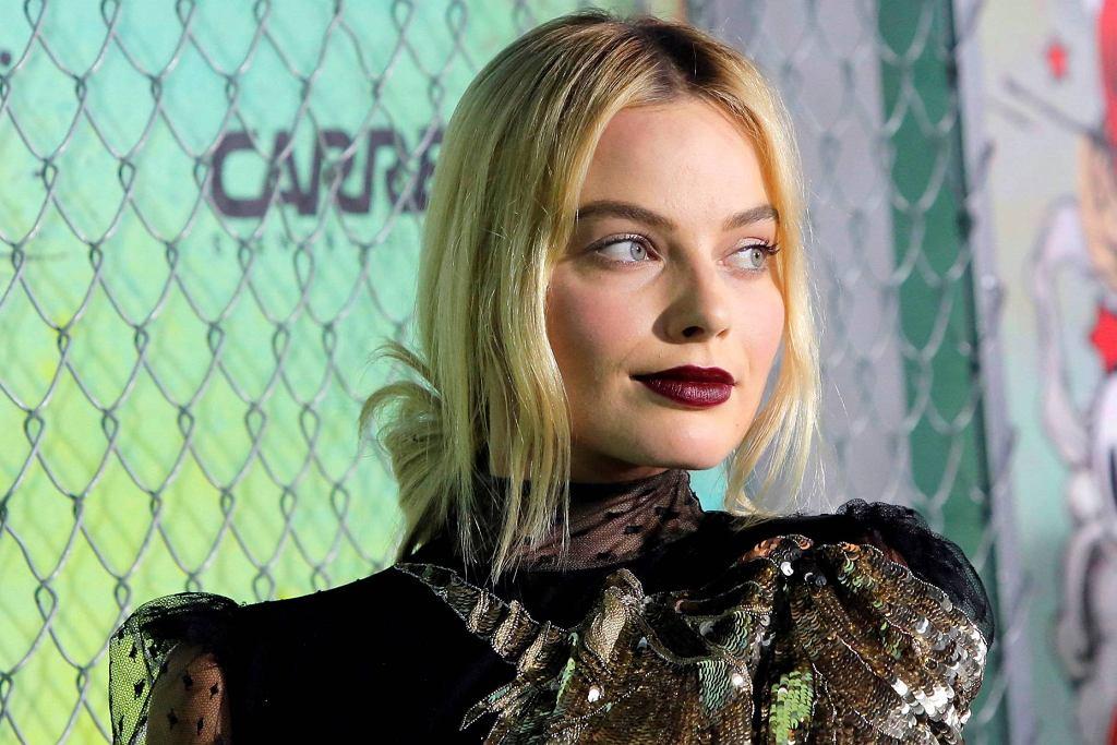 Margot Robbie na premierze