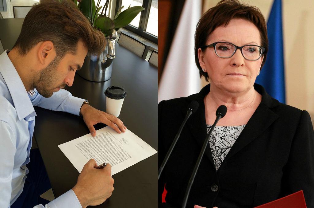 Rafał Maślak, Ewa Kopacz