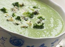 Zupa krem z brokułów z gorgonzolą - ugotuj