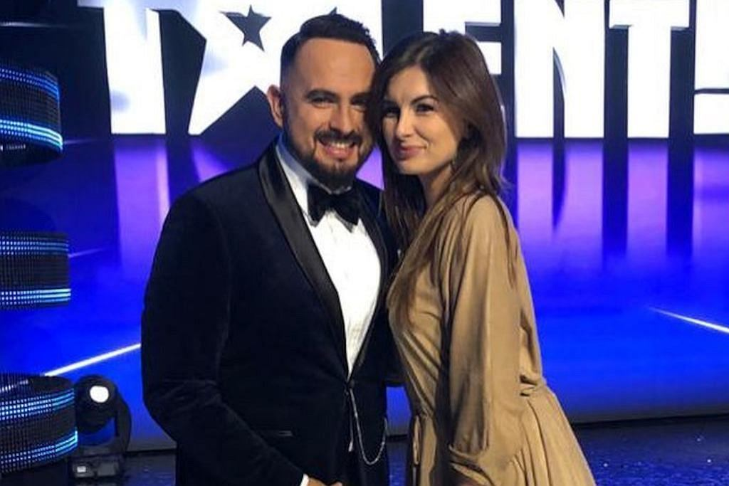 Agustin Egurrola i jego żona Diana