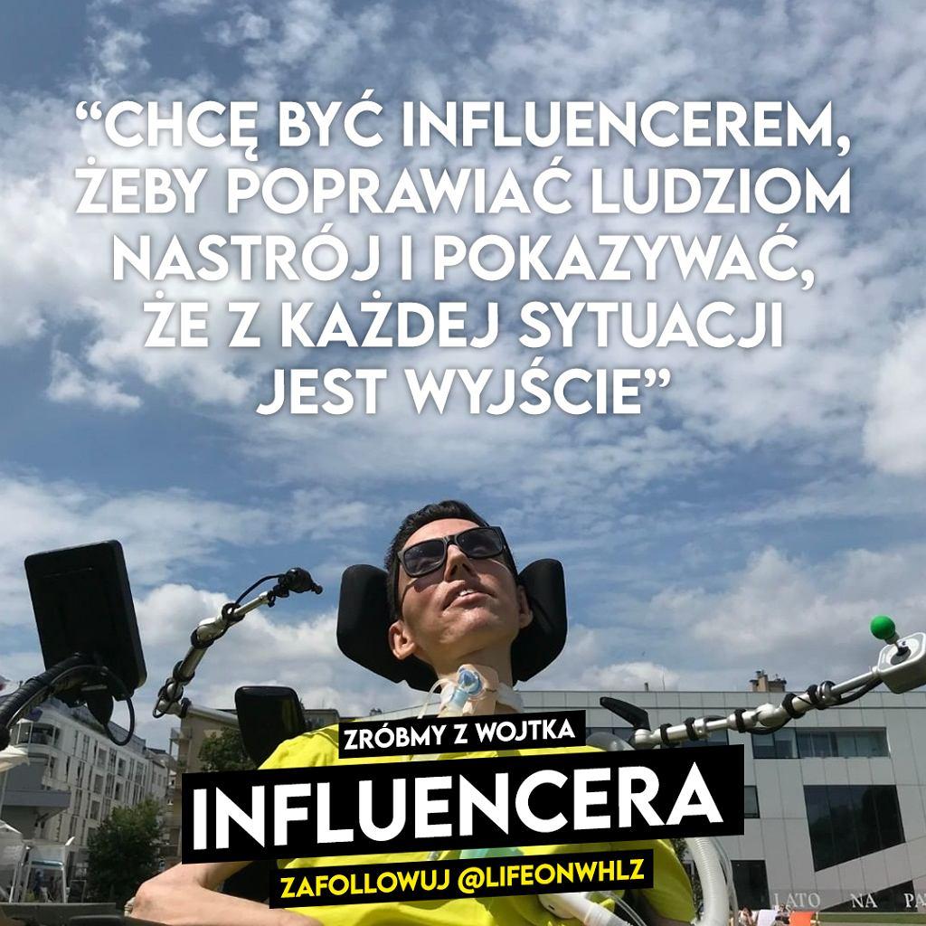 Zróbmy z Wojtka influencera