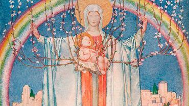1914, wizja Brytyjczyka Edwarda Reginalda Framptona  malarza specjalizującego się w malarstwie okolicznościowym i religijnym