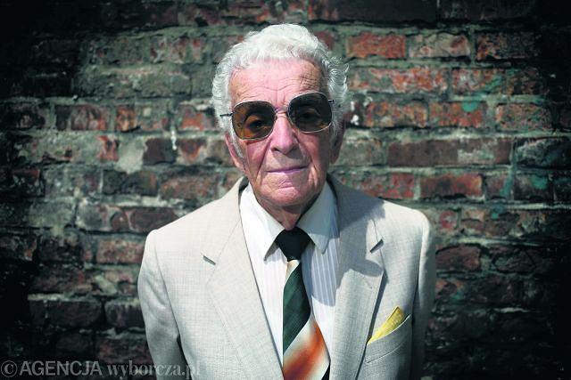 Zdjęcie numer 2 w galerii - Zmarł Alfred Schreyer, uczeń Brunona Schulza, ostatni Żyd Drohobycza. Jeździł do niego cały świat
