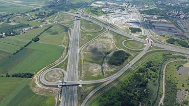 Autostrada A4, węzeł Kraków Południe