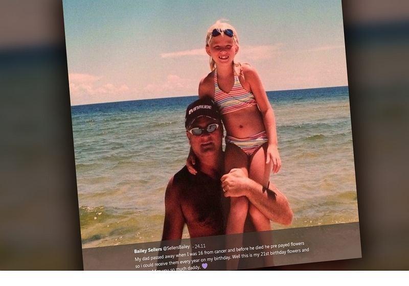 Bailey i jej tata